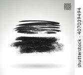 brush stroke and texture.... | Shutterstock .eps vector #407039494