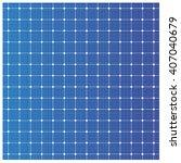 solar cell pattern  vector  | Shutterstock .eps vector #407040679