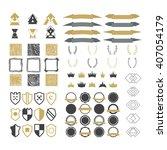 collection of premium design... | Shutterstock .eps vector #407054179