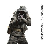 military  war  conflict ... | Shutterstock . vector #407060089