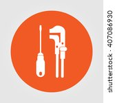 tools vector icon | Shutterstock .eps vector #407086930