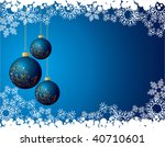 christmas background | Shutterstock . vector #40710601