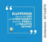 inspirational motivational... | Shutterstock .eps vector #407163070
