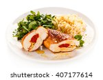 Stuffed Chicken Fillets And...