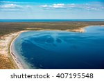 Aerial View In Shark Bay Monke...