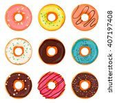 donut icon  donut icon set ...