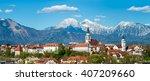 Kranj  Slovenia   Panorama Vie...