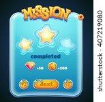 form designed game user... | Shutterstock .eps vector #407219080