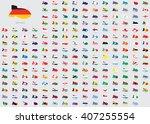 world flag illustrations in the ...   Shutterstock . vector #407255554