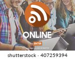 online digital internet...