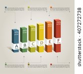 infographic design template... | Shutterstock .eps vector #407272738