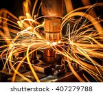 industrial welding automotive... | Shutterstock . vector #407279788