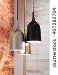 Three Modern Hanging Lamps