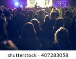 the audience watching the... | Shutterstock . vector #407283058