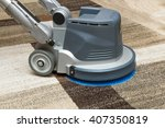 carpets chemical cleaning with... | Shutterstock . vector #407350819