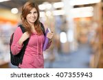 student. | Shutterstock . vector #407355943