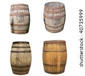 Wooden Barrel Cask For Wine Or...