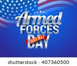 vector illustration of armed... | Shutterstock .eps vector #407360500