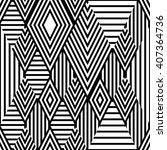 vector black and white ethnic...   Shutterstock .eps vector #407364736