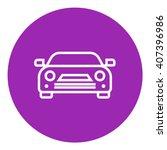 car line icon. | Shutterstock .eps vector #407396986