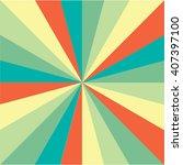 radial background.ray burst... | Shutterstock .eps vector #407397100