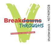 breakdowns can create... | Shutterstock .eps vector #407409328