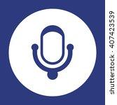 microphone  icon  vector...