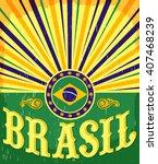 Brazil Vintage Patriotic Poster ...