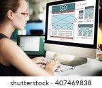 seo search engine optimization... | Shutterstock . vector #407469838