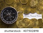 """compass on coins with """"advisory ... 