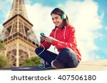 technology  travel  tourism and ... | Shutterstock . vector #407506180