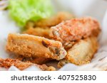 Deep Fried Chicken Wing