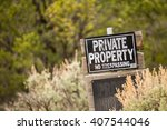 Private Property. No...