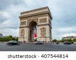 paris  france  july 25.2015  ... | Shutterstock . vector #407544814