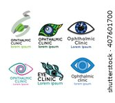 logo for ophthalmic clinic or...