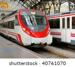 platform and cars at the french ...   Shutterstock . vector #40761070