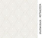 vector seamless pattern. modern ...   Shutterstock .eps vector #407662024