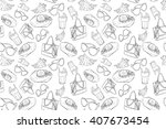 vector seamless pattern...