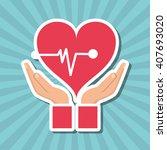 illustration design of... | Shutterstock .eps vector #407693020