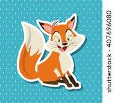 animal cartoon design  ... | Shutterstock .eps vector #407696080