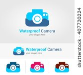 vector illustration waterproof... | Shutterstock .eps vector #407720224