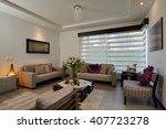 interior design  big modern... | Shutterstock . vector #407723278