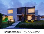 architecture  big modern house | Shutterstock . vector #407723290