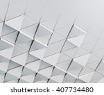abstract architectural pattern | Shutterstock . vector #407734480