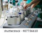 heart lung machine for heart... | Shutterstock . vector #407736610