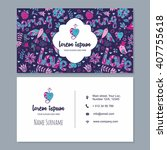 visiting card or business card