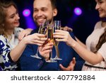 party  holidays  celebration ... | Shutterstock . vector #407792884