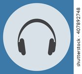 headphone icon | Shutterstock .eps vector #407892748