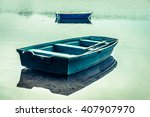 Rowing Boat On The Lake...