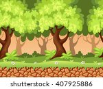 seamless forest background